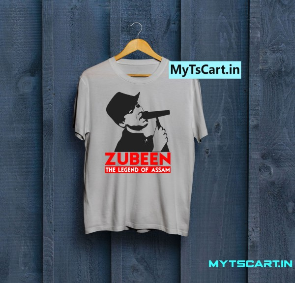 Zubeen Garg Printed t shirt grey
