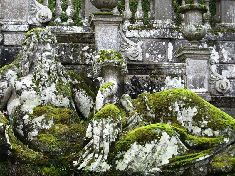 Fontana dei Fiumi Villa Lante Bagnaia