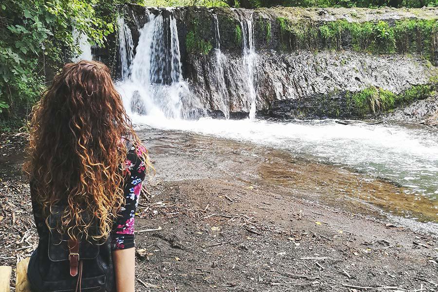 cascata del Rio Fratta Tuscia