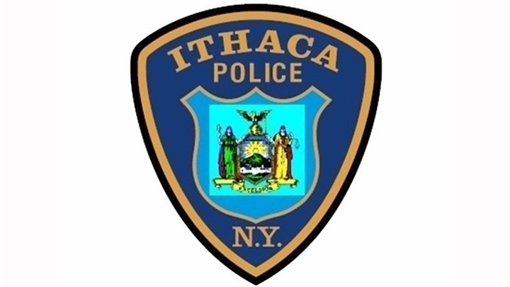 Ithaca Police badge-118809342