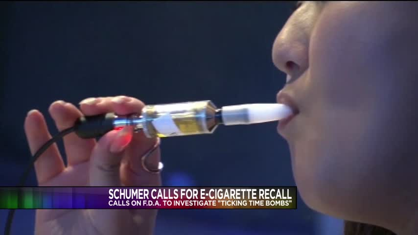 Schumer Calls on FDA to Investigate Exploding E-Cigarettes_16339384