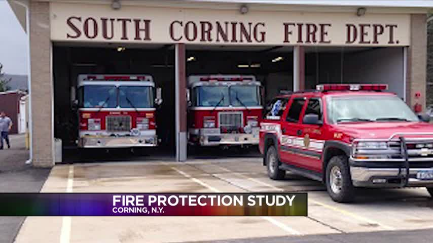 Town of Corning conducting fire protection study survey_74153749