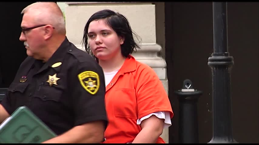 Harriette Hoyt appears in court