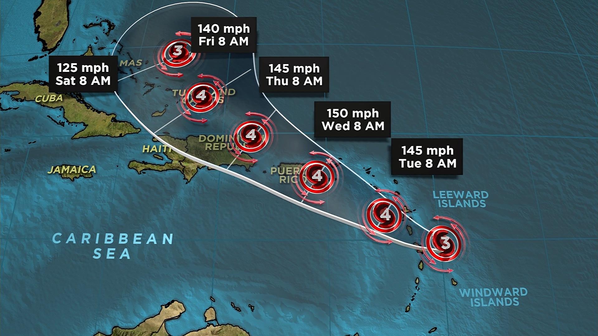 Hurricane Maria forecasted track 9-18-159532.jpg36296505
