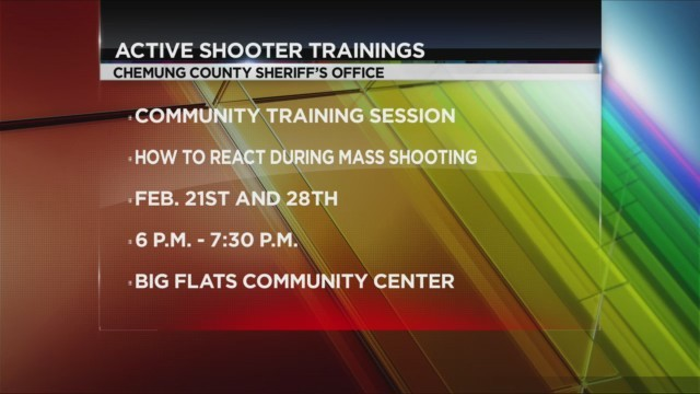 Active shooter training info