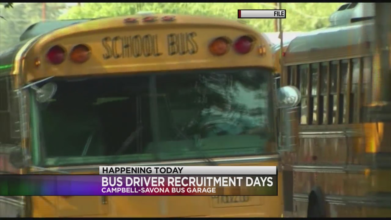 Bus drivers needed in Campbell-Savona district; recruitment starts today