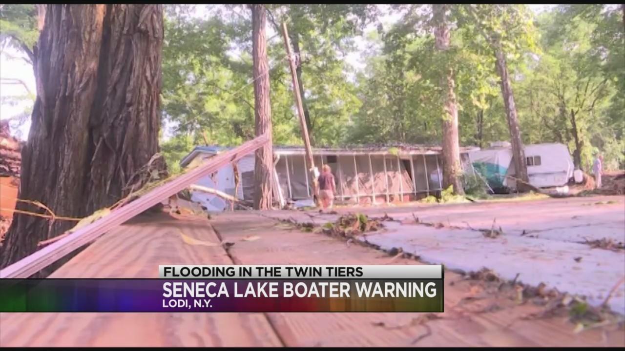Seneca Lake boater warning