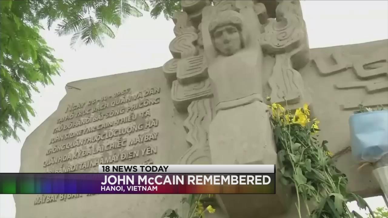 Vietnam remembers John McCain