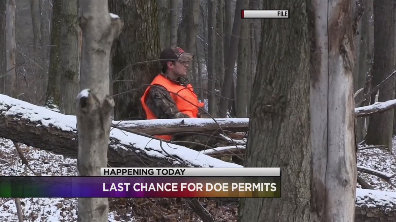 Last day to apply for doe permits