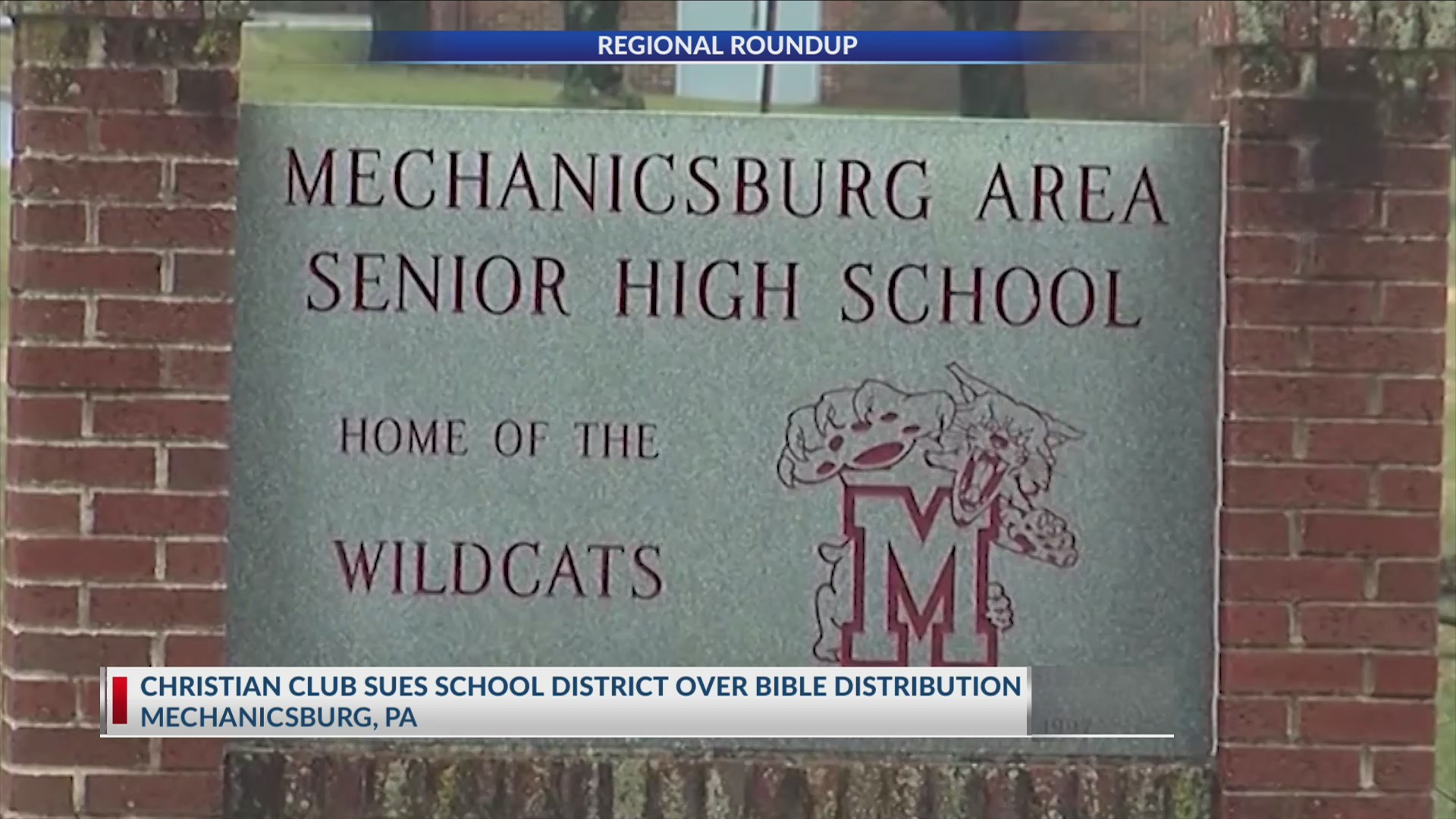 Students sue PA school district over Bible handout issue