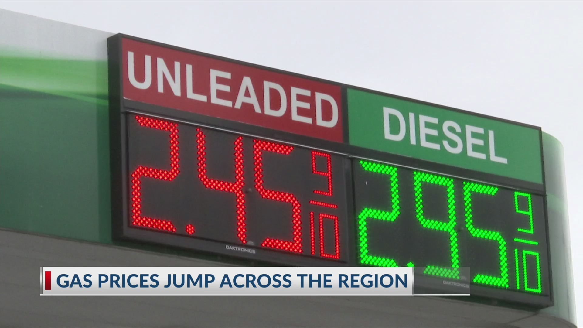 Twin Tiers gas prices jump