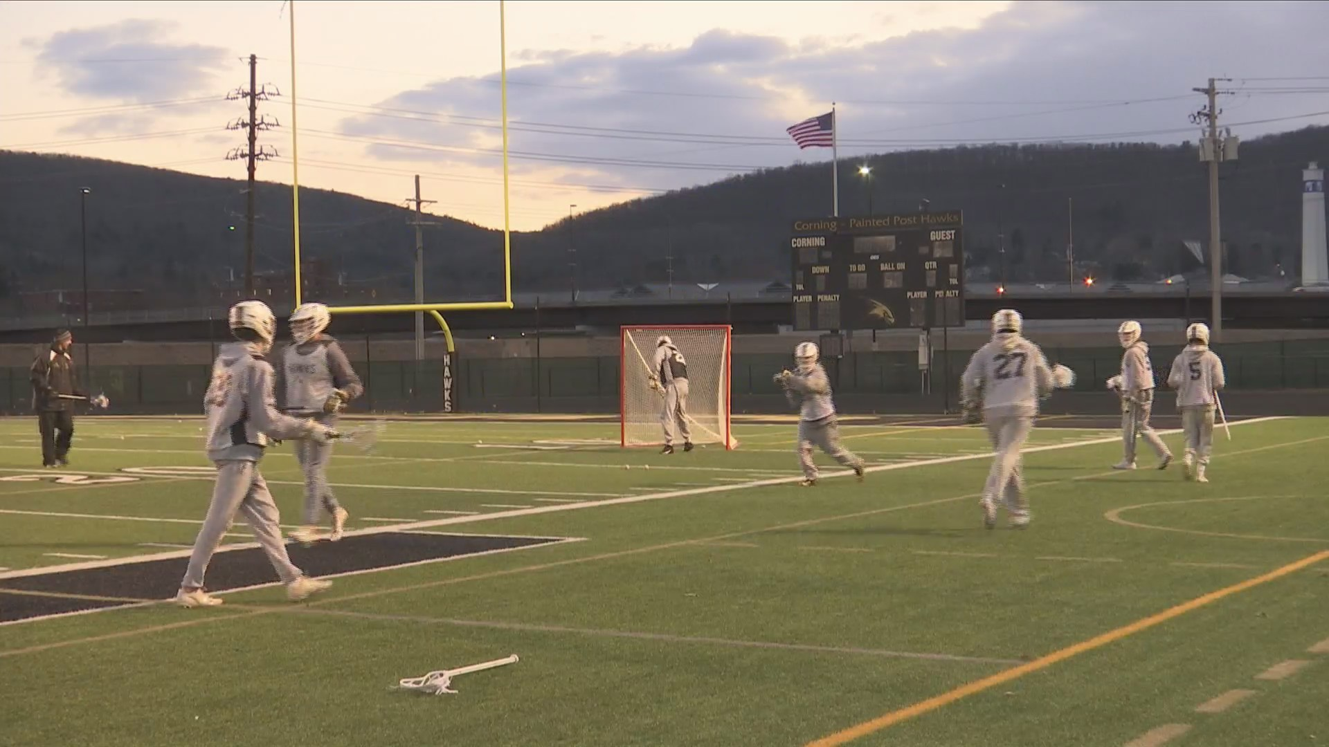 Corning boys lacrosse aims for sectional title