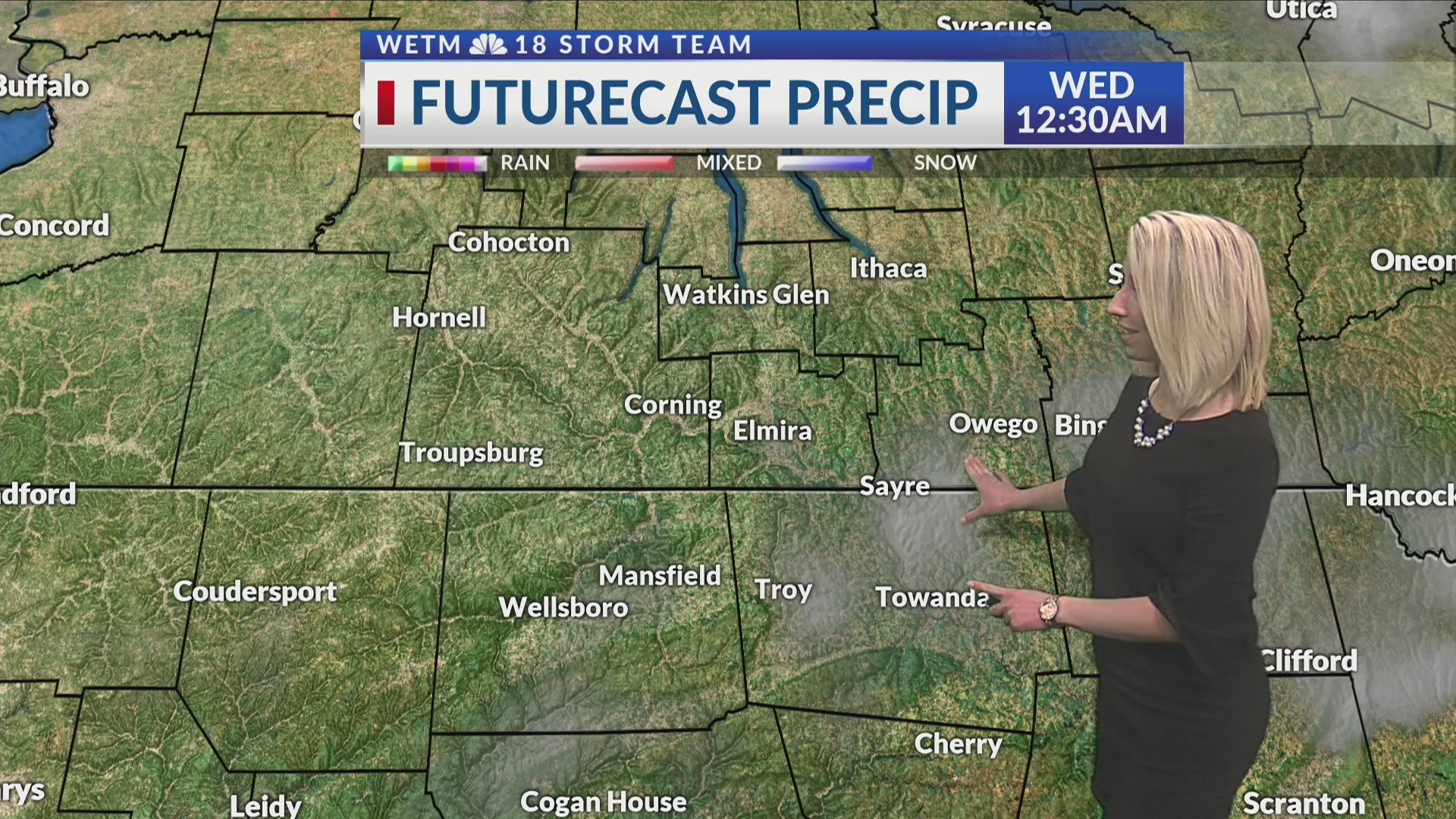 Monday Evening's 7-Day Forecast (3/18/19)
