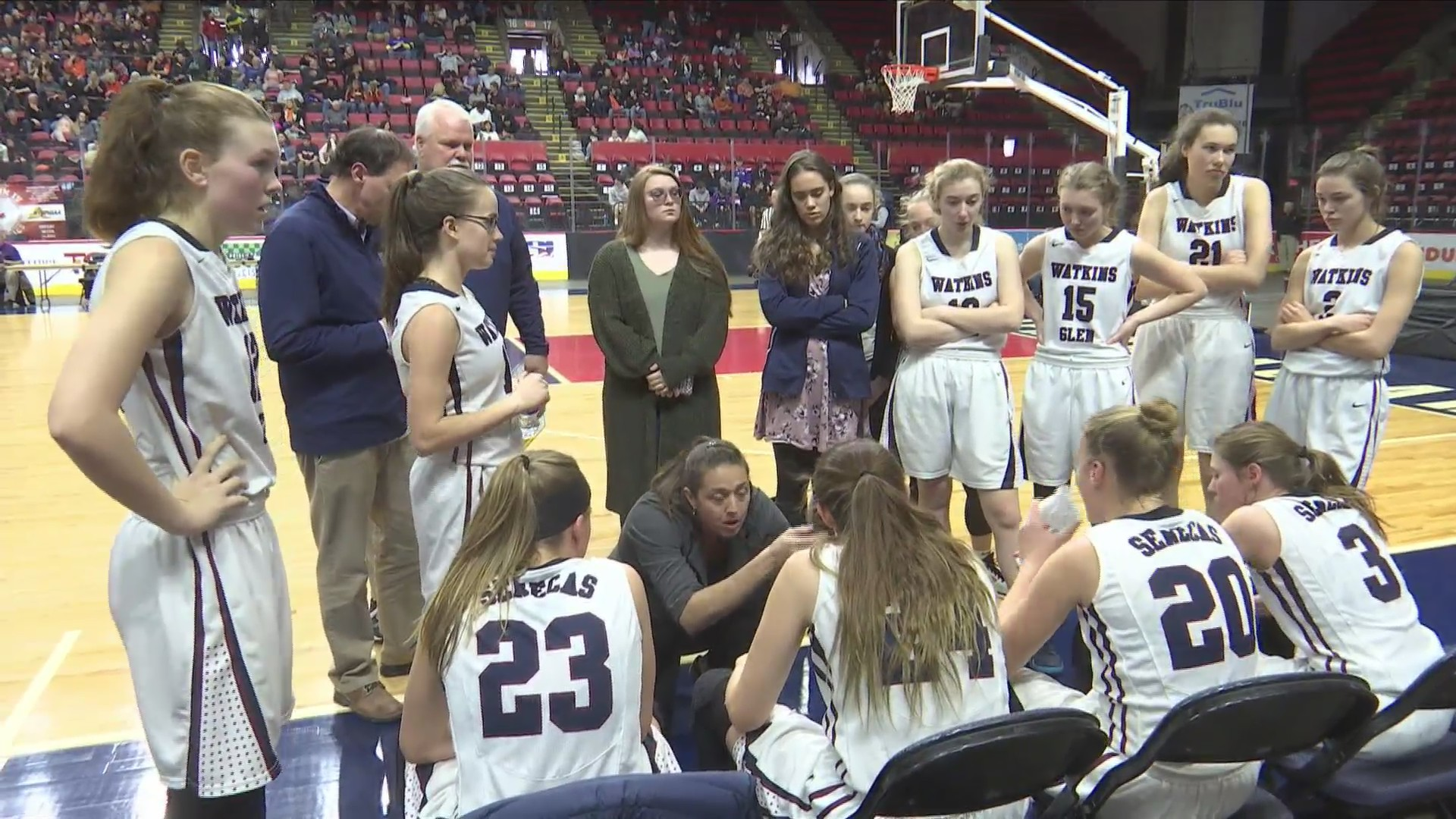Watkins Glen girls headed to state semifinals