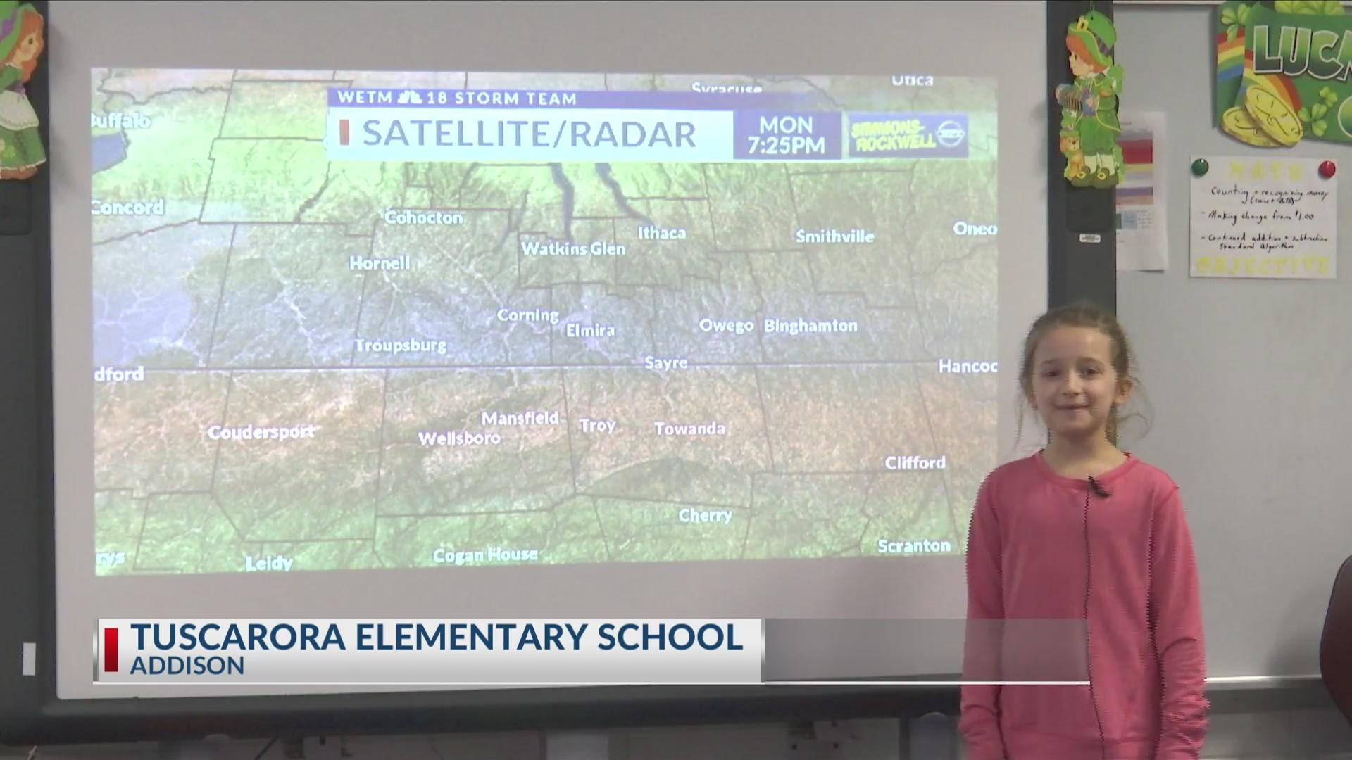Weather Wisdom: Second grade class from Tuscarora Elementary School