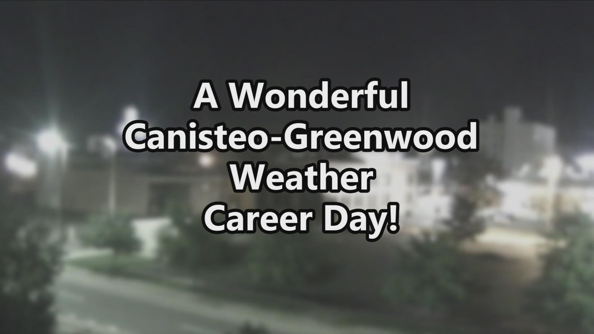 Weather Wisdom: Canisteo-Greenwood Career Day