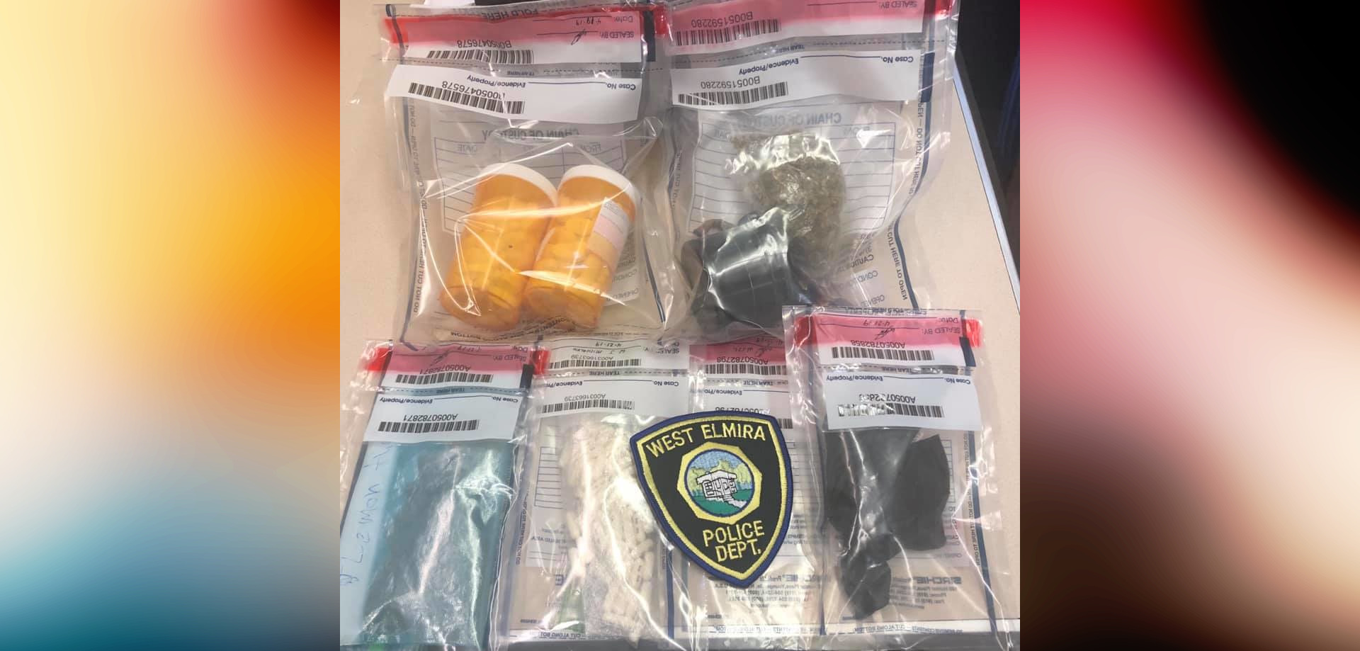 Traffic stops result in multiple drug busts in West Elmira