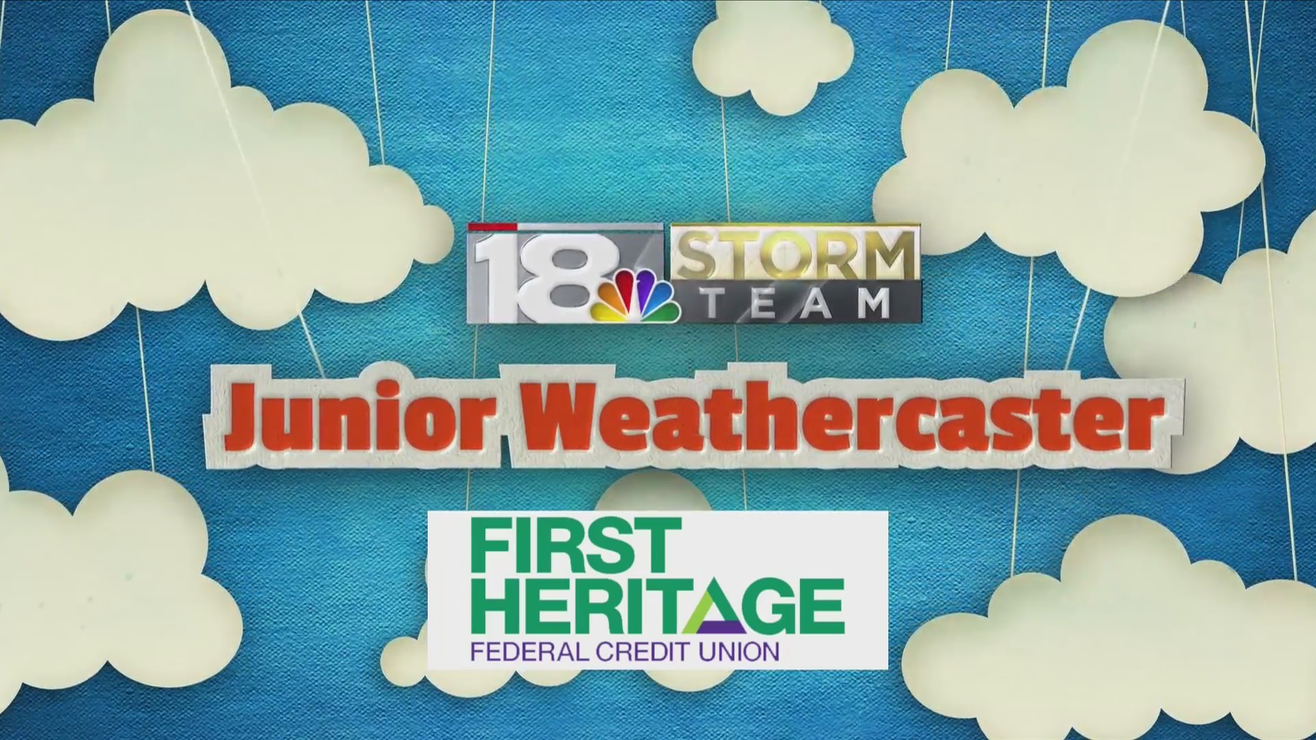 Junior Weathercaster: Amelia Manning