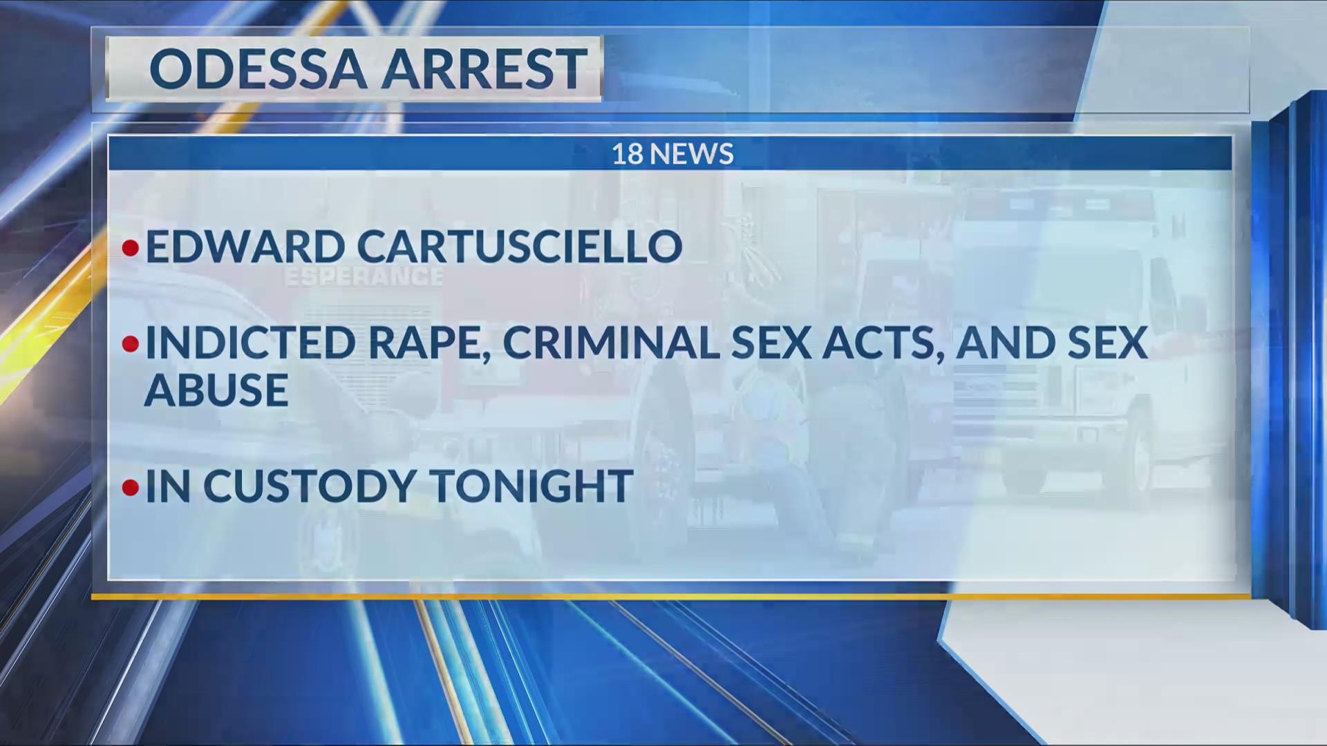 Odessa arrest