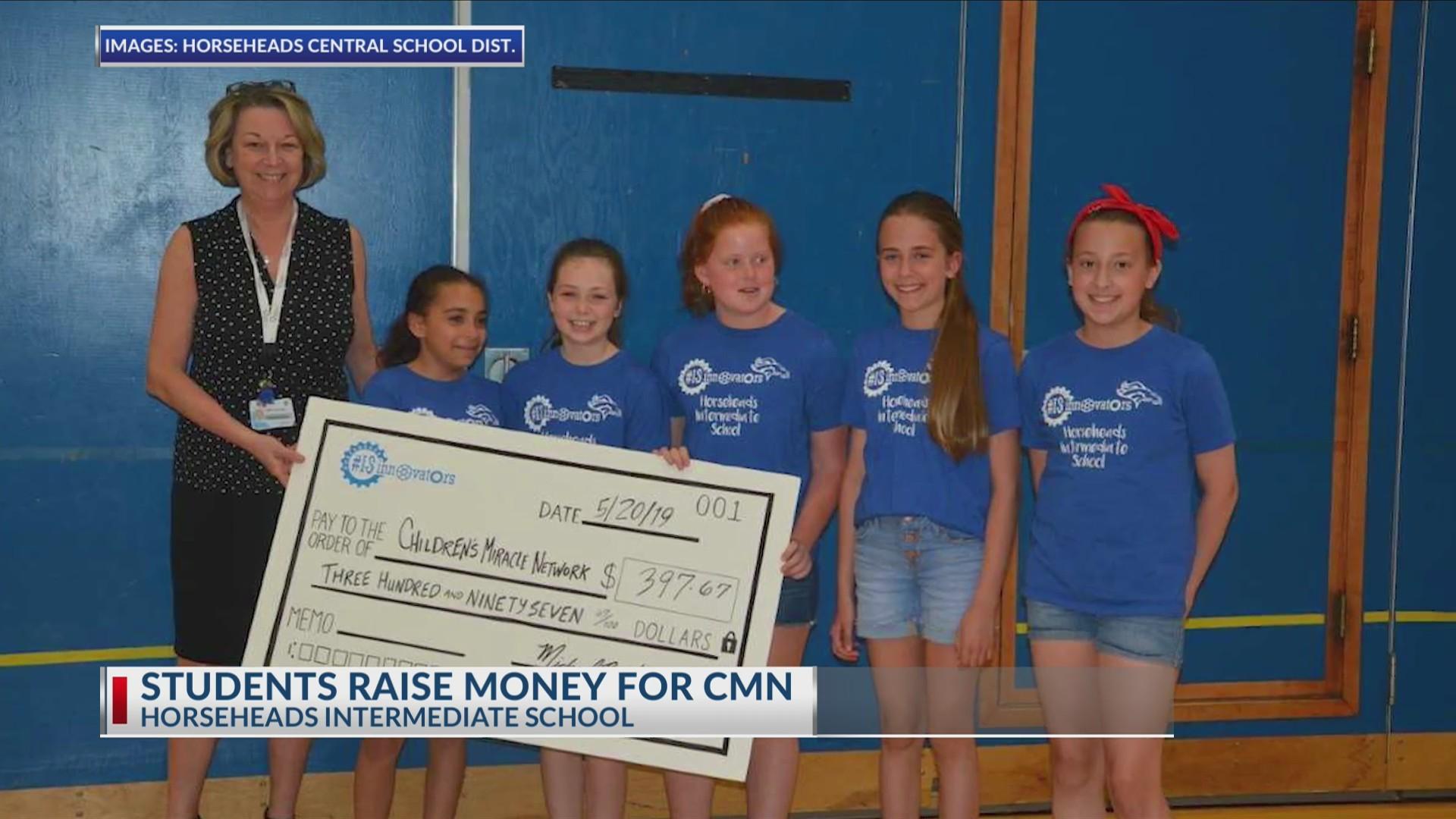 Students raise money for CMN