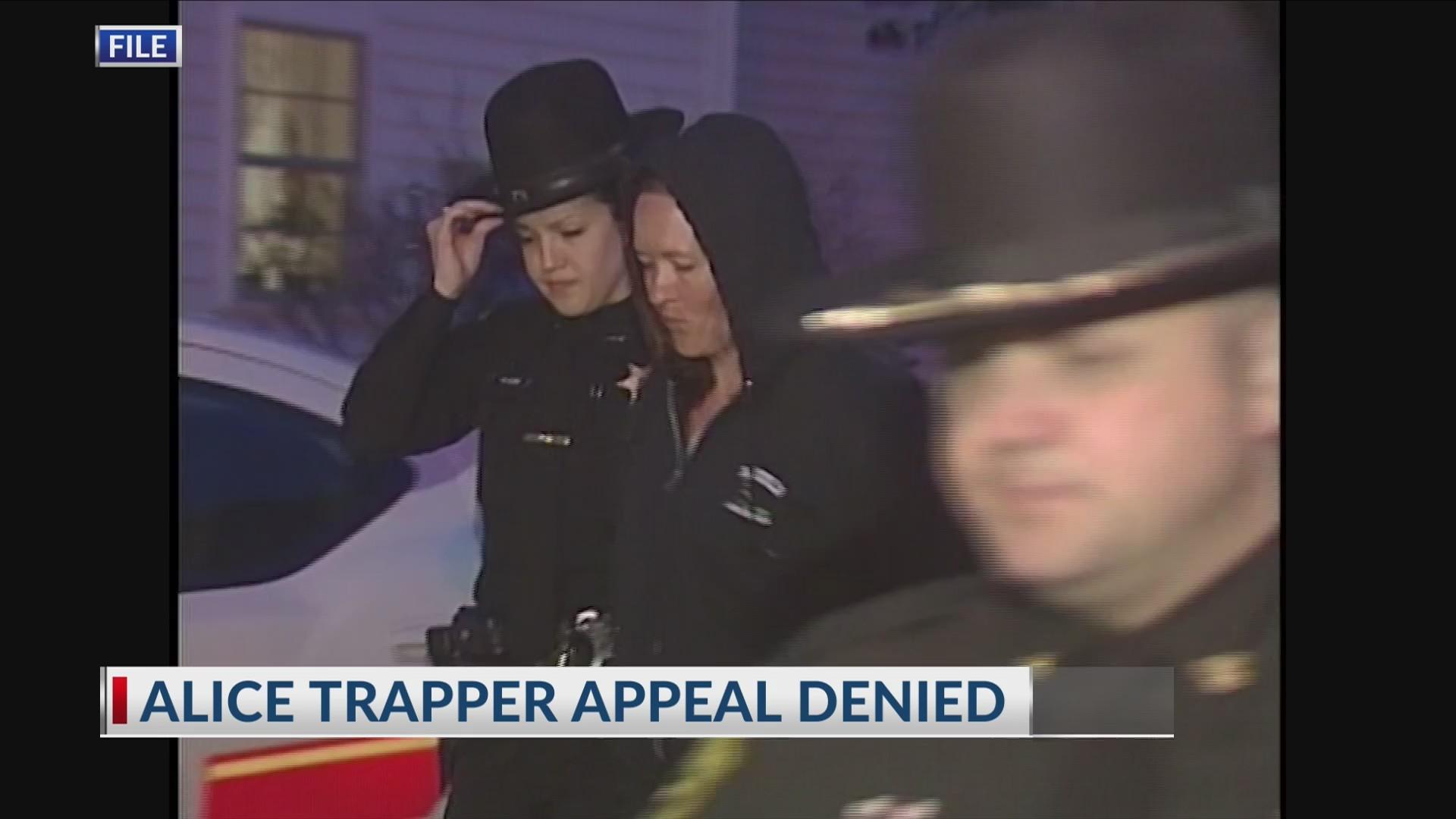 Alice Trapper appeal denied