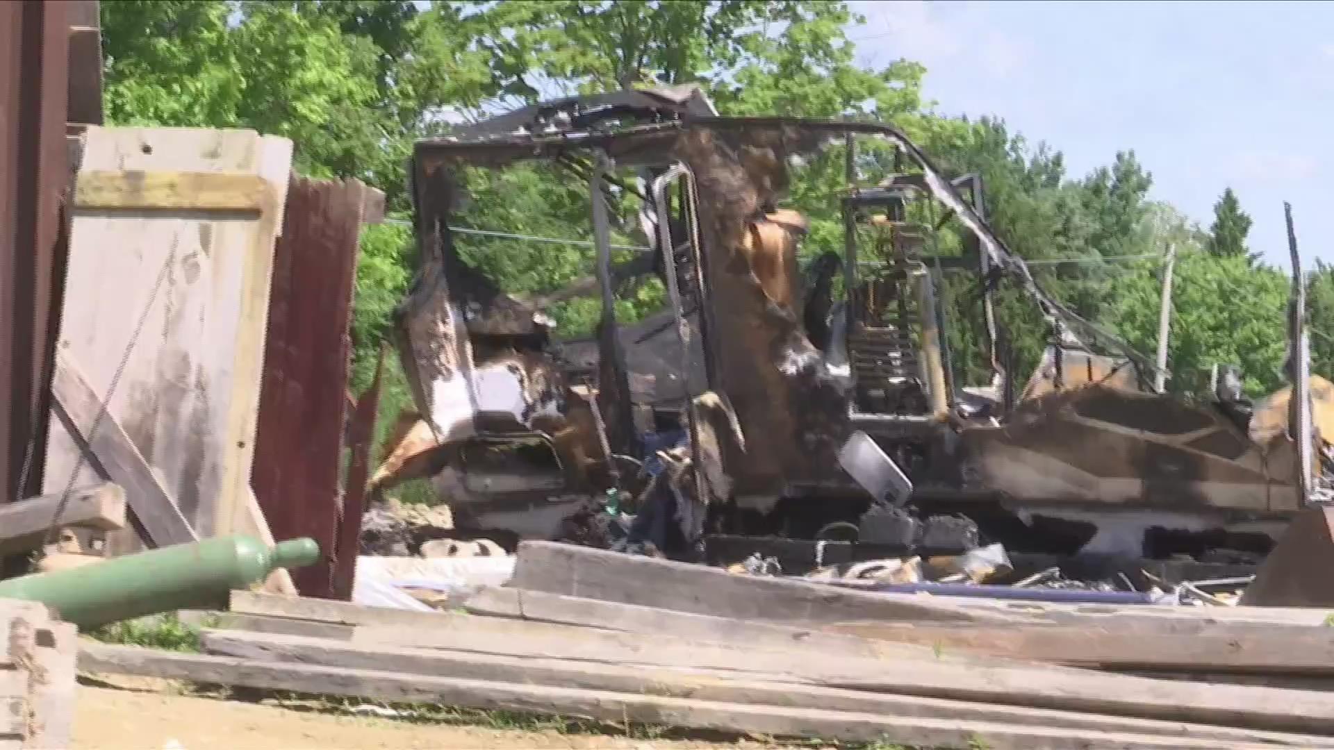 Caton fatal fire update