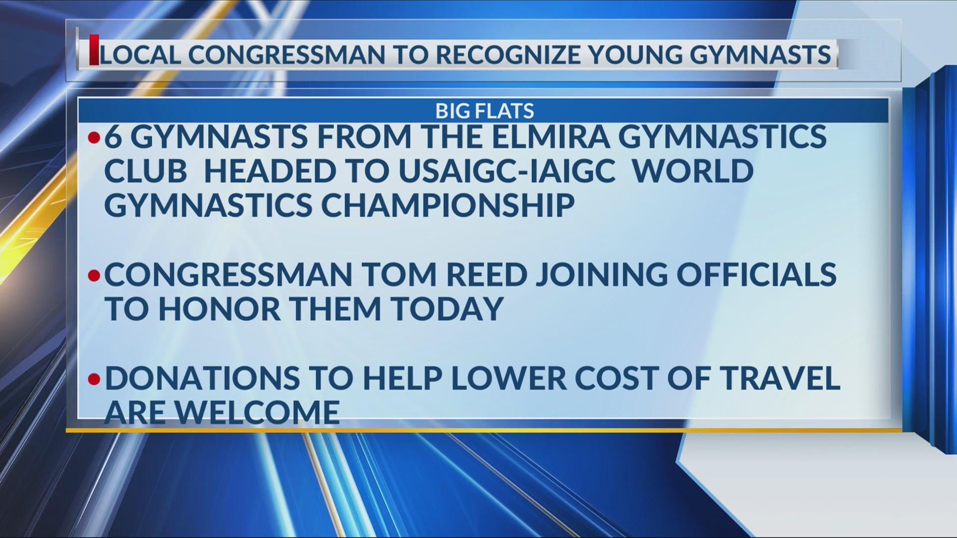 Local Gymnasts to Participate in World Gymnastics Championship