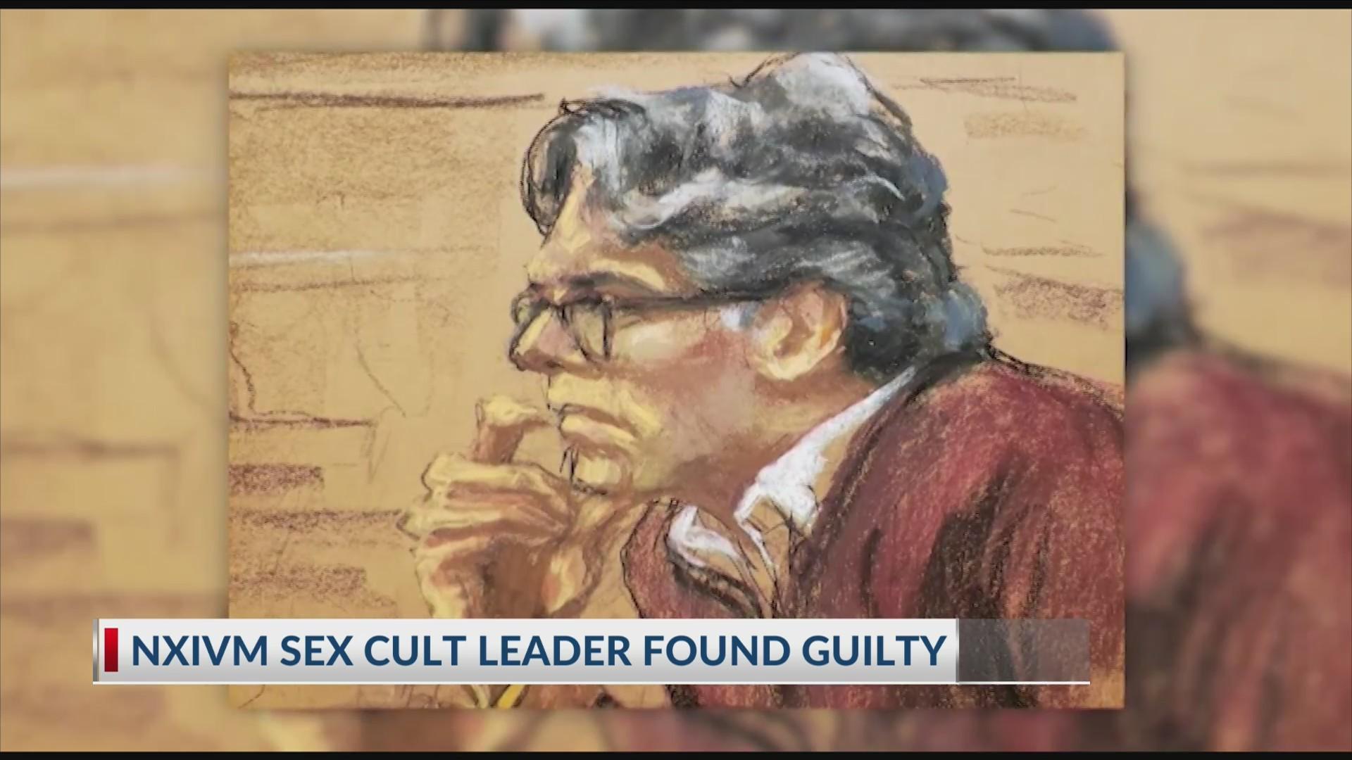 NXIVM sex cult leader guilty