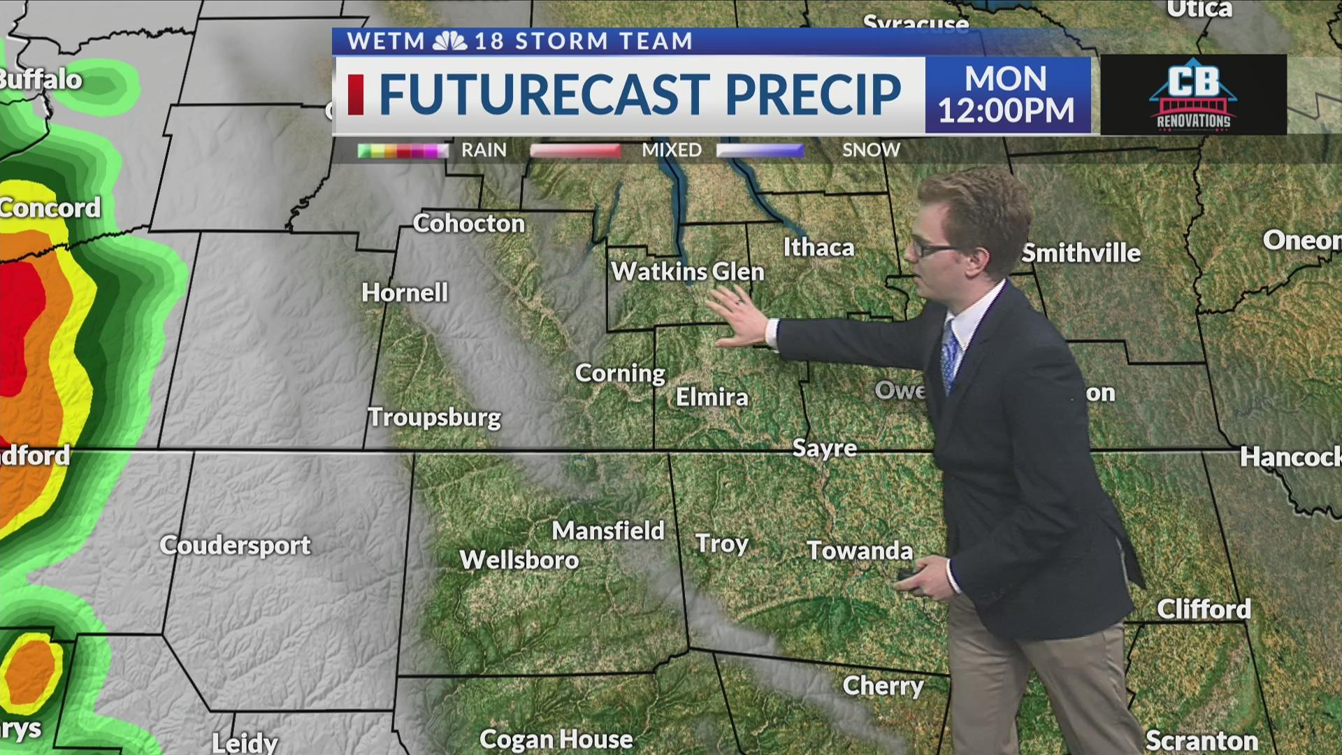 Saturday Evening's Forecast 6/22/19