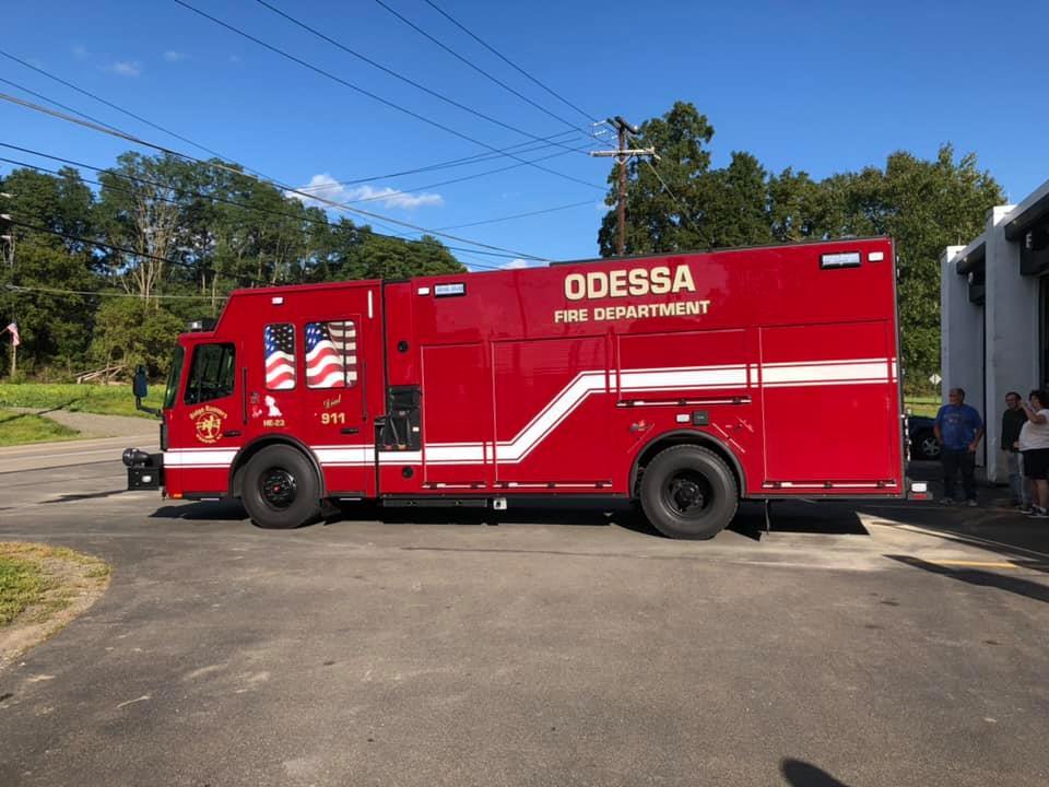 Odessa gets a new rescue pumper