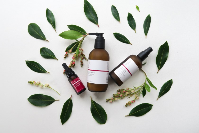 Trilogy Cream Cleanser Hydrating Mist Toner Organic Rosehip Oil