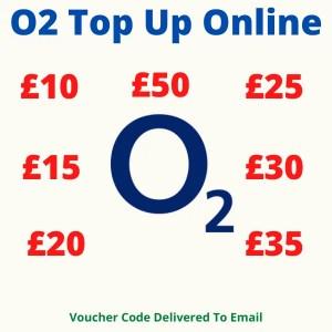 O2 Top Up Online