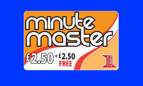 Minute Master Calling Card