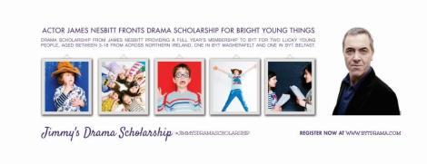Scholarship banner and images