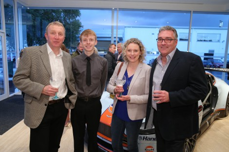 Steve & Fergus Wright, Suzannah Hoey & Angus Patterson