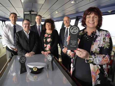 STENA LINE WINS BEST FERRY COMPANY FOR 23RD TIME:
