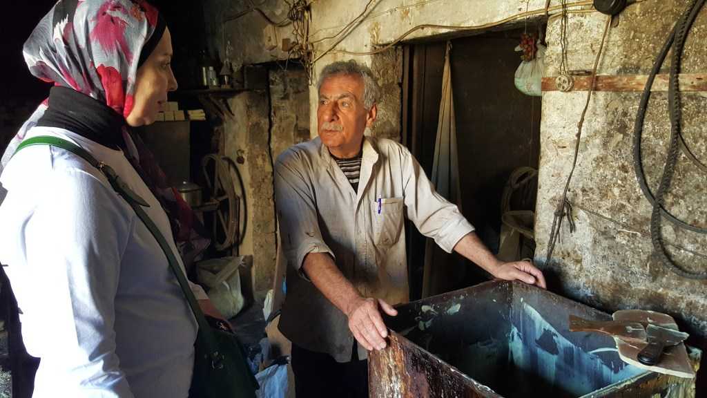 Tripoli, Lebanon, Charkass, oldest soap factory, human stories, storytelling, connections, conversations