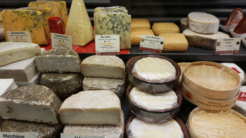 cheese, France, Paris, french cheese, window, market