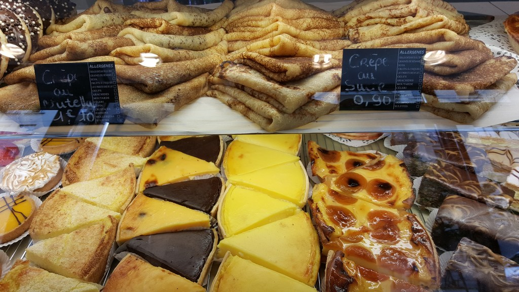 sweets, patisserie, Paris, France, crepes, lemon tart, tart, chocolate