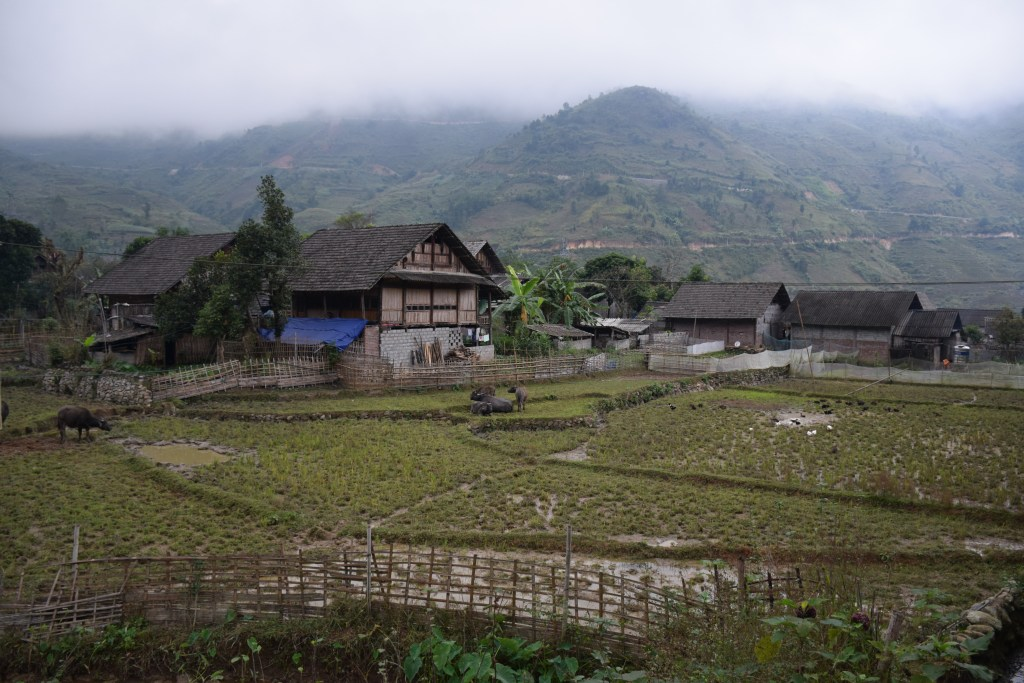 Sapa, village, trek, North Vietnam