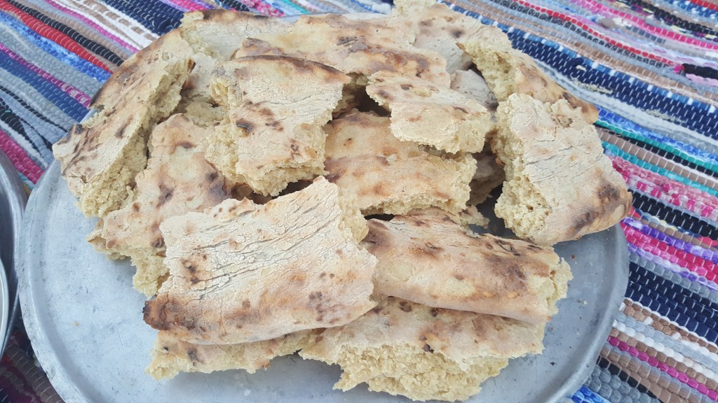 lebbah bread, bedouins, Sinai trail, egypt, camping, hiking, breakfast, picnic, lunch