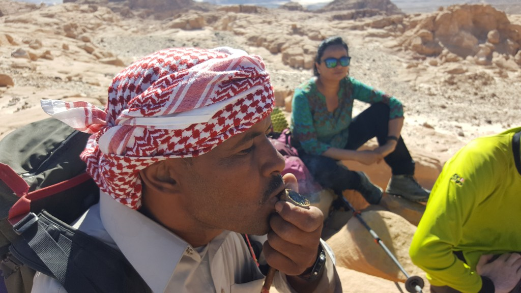 Bedouin, tobacco, Egypt, Sinai trail, hiking