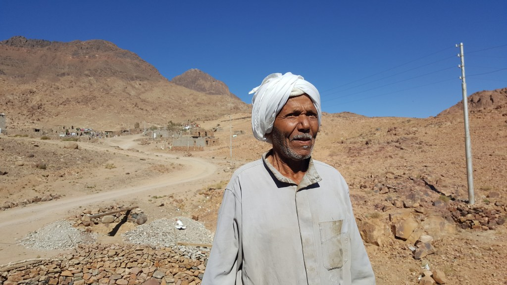 Sinai, Trail, Hiking, pilgrimage, Bedouins, story, mosque, village, settlement, Egypt