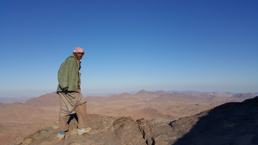 Bedouin, Egypt, Sinai trail, Mt Moses, hiking