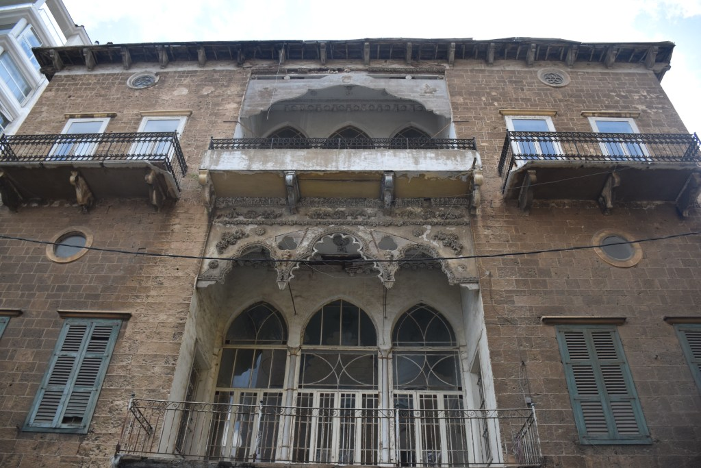 Beirut, Lebanon, architecture, inheritance, balcony, old house, mansion, ottoman