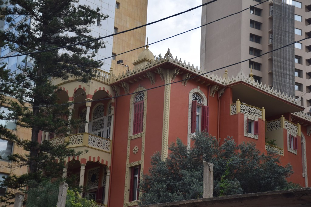 Beirut, Lebanon, mansion, architecture, old buildings, inheritance