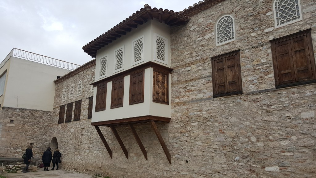 Ottoman, house, architecture, athens, greece