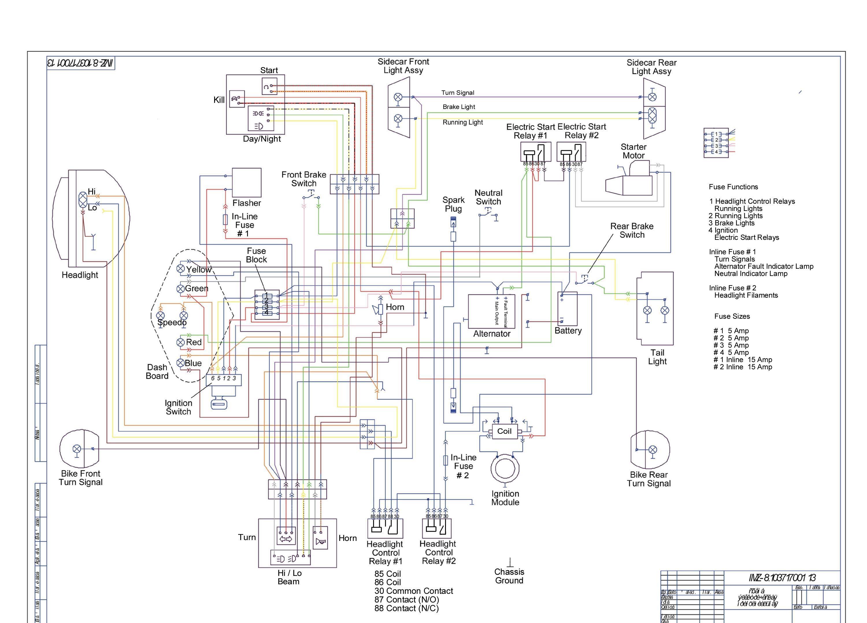 750cc Wiring Schematic