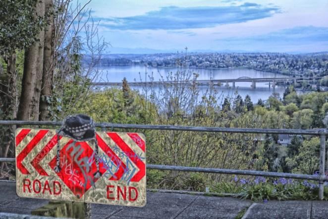 Seattle street end.
