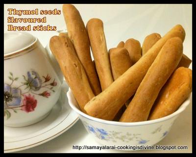Iyengar Bakery Indian Bread sticks/ Omam Sticks /Thymol seeds